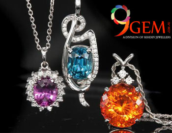 Which metal is suitable for gemstones