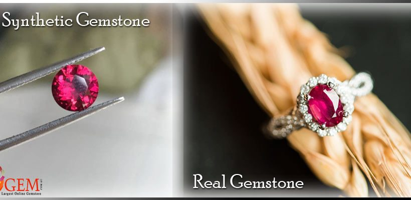 What is Difference Between Real and Synthetic Gemstone?
