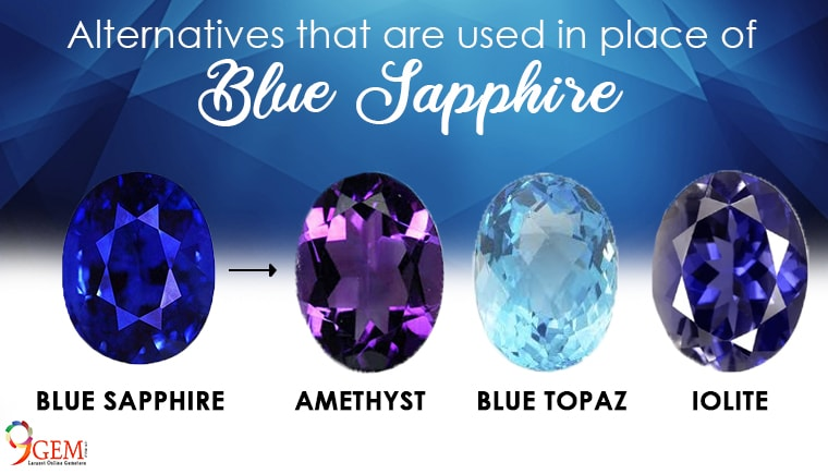 Alternative That Are Used In Place Of Blue Sapphire