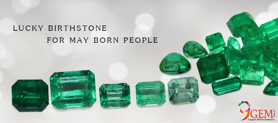 Lucky Birthstone for May born people