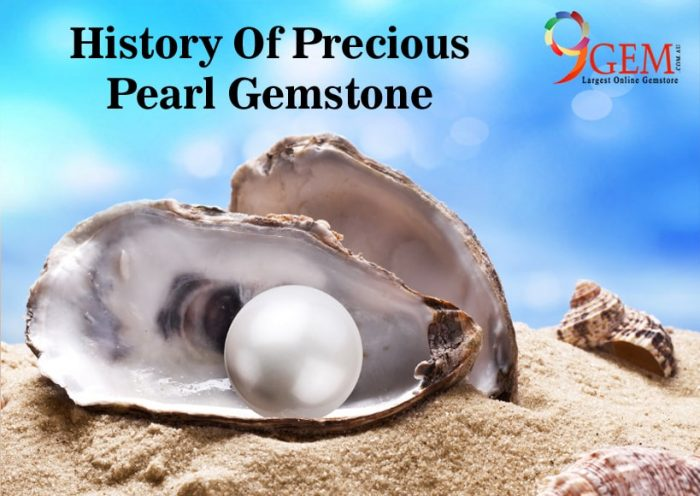 History Of Precious Pearl Gemstone