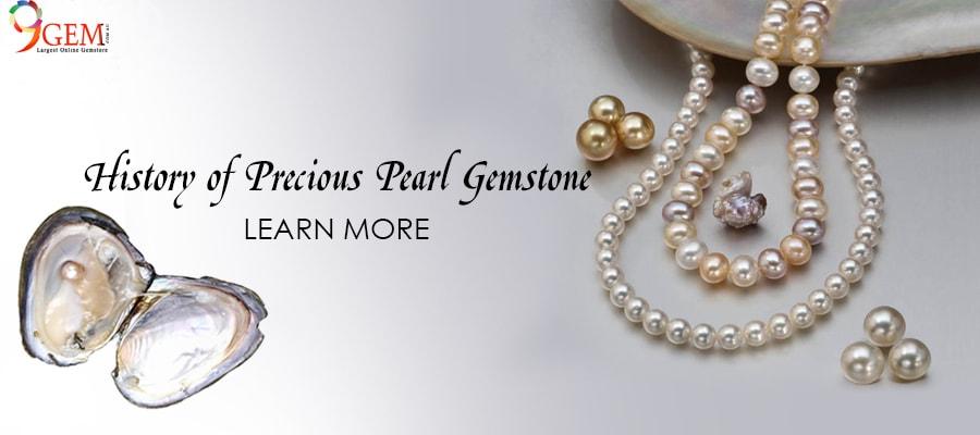 History Of Precious Pearl Gemstone