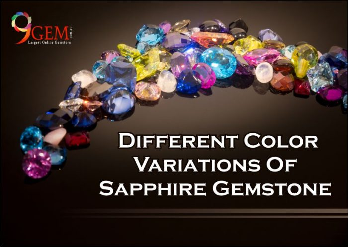 Different Color Variations Of Sapphire GemstoneDifferent Color Variations Of Sapphire Gemstone